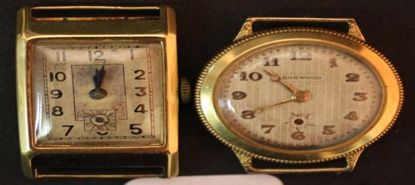 La montre en or